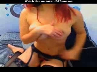 Dança sexy \|Homemade|redhead|busty|peitos grandes|quentes|sexy|dança|Rrr|mamas grandes|cabeça vermelha|webcam|Rrr|