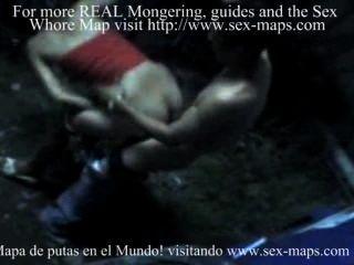 Prostitutas nicaraguenses no trabalho com os turistas