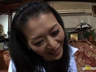 Envelhecido cinquenta japoneses maduras mulher 1
