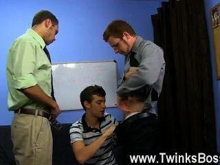 Filme gay brian ligações e marc peron precisa de um novo pa no escritório e ryan