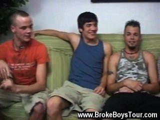 Incrível cena gay todos no apartamento estava indo para fazer US $ 1500 um