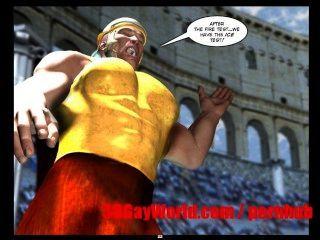 Gay jogos olímpicos 3d engraçado desenhos animados anime quadrinhos antigos xxx piada 3dgay