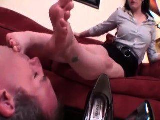 Adoração de pé sexy