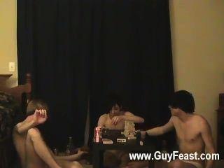Hardcore gay traço e william se reúnem com seu companheiro fresco austin