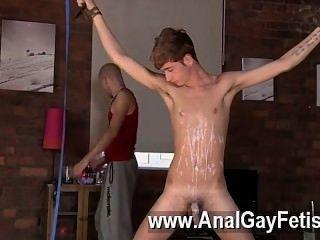 Surpreendente gay cena twink homem jacob daniels é a sua recente refeição, cordado
