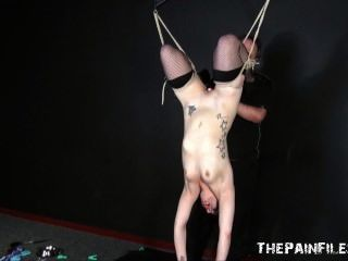 Sexo brinquedo dominação e suspensão bondage de kinky fetiche modelo isabel dean