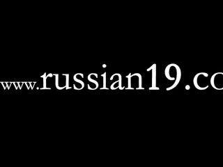 Show ao vivo da bela garota russa