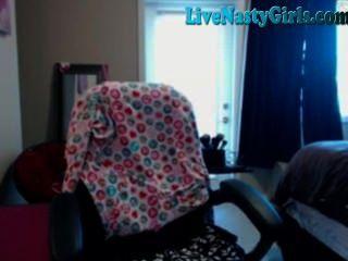 Grande garota webcam boobed com hitachi cheio