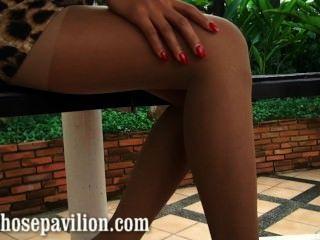Sexy nonnude perna pantyhose percorrer provas por hot tailândia xanny modelo