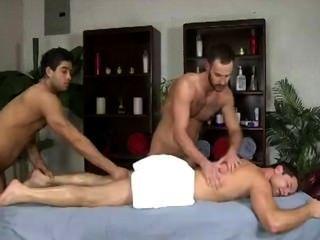 Massagem masculina dupla