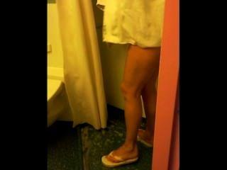 Espionando minha esposa no chuveiro