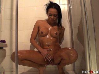 Banho de óleo de massagem