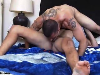 Latin papi fucking ass